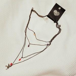 Brandy Melville 4 Layered Bird Pendant Necklace